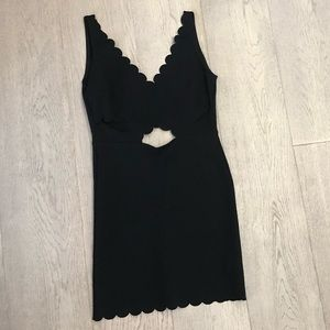NWOT Topshop Little Black Bodycon Party Dress